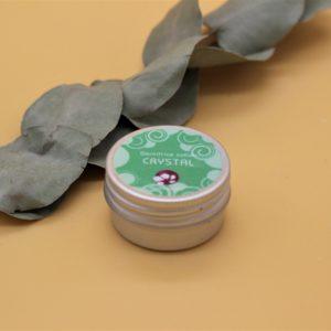 Crystal – Dentifrice solide aux 2 menthes – Boite métal – 20 gr