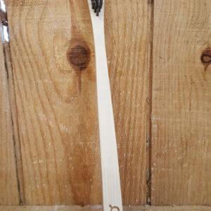 Brosse à dents en bambou infusée au charbon