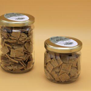 Biscuits huile d'olive et cumin