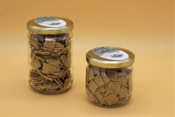 Biscuits huile d'olive et graines de cumin