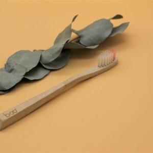 Brosse à dents en bambou modèle enfant souple