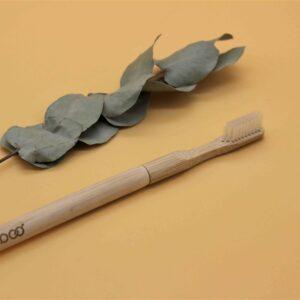 Brosse à dents rechargeable en bambou