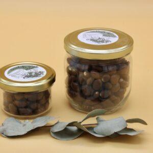 Cacahuètes enrobées chocolat au lait
