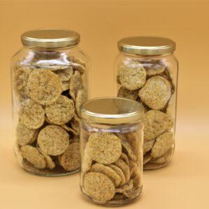 Crackers de lentilles thym et romarin