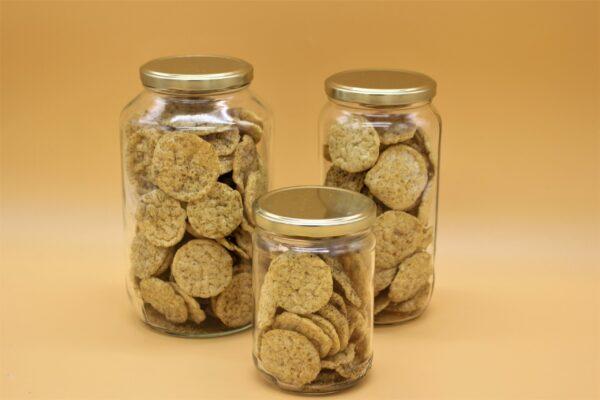 Crackers lentilles thym romarin