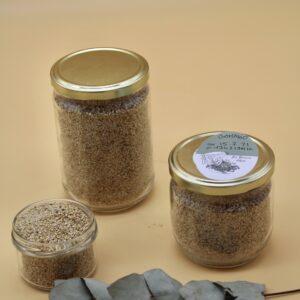 Gomasio bio – Sésame toasté et sel de Guérande