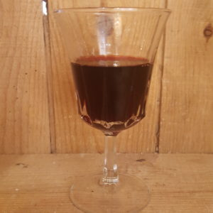 Vin rouge Merlot bio