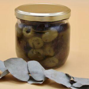 Mix olives vertes et noires