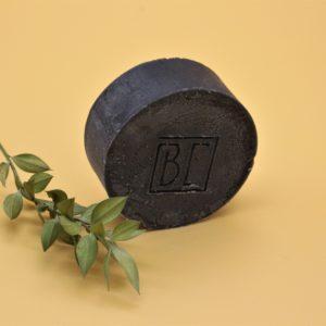 Shampoing solide au charbon végétal, lavandin, romarin et litsea – 100 gr – Be Cosmetics