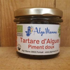 Tartare d'algues au piment doux – 100 gr