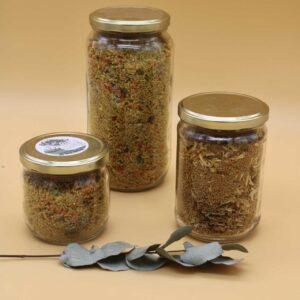 Couscous 4 céréales à la noix de coco et au curcuma