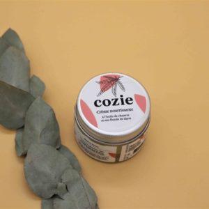 Crème nourrissante visage à l'huile de chanvre et eau florale de thym – 30ml