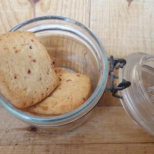 Biscuits sablés aux cranberries