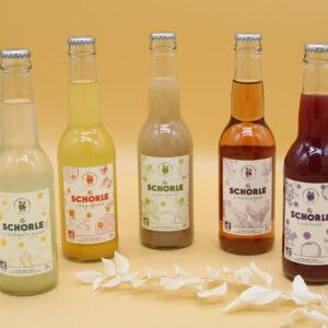 Schorle, boisson pétillante aux fruits