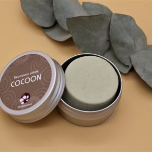 Déodorant solide Cocoon – Boîte métal – 25 gr