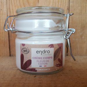 Crème corps hydratante Fleur de coton – 100 ml