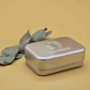 Boite à savon en aluminium Fer à Cheval