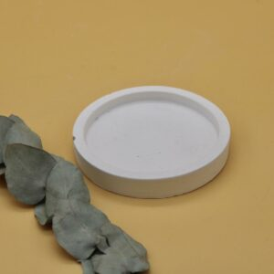 Support bougie en roche Ponoie
