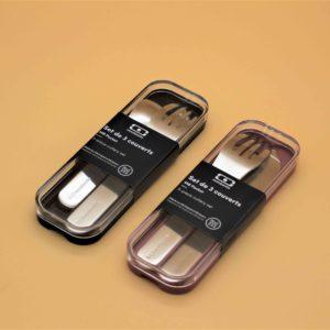 Pocket Couverts Nomades Coton – Monbento