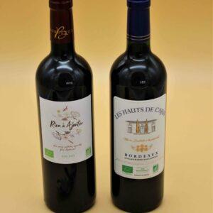 Vin rouge Château Cajus