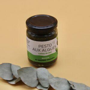 Pesto aux algues – 120g Bord à bord