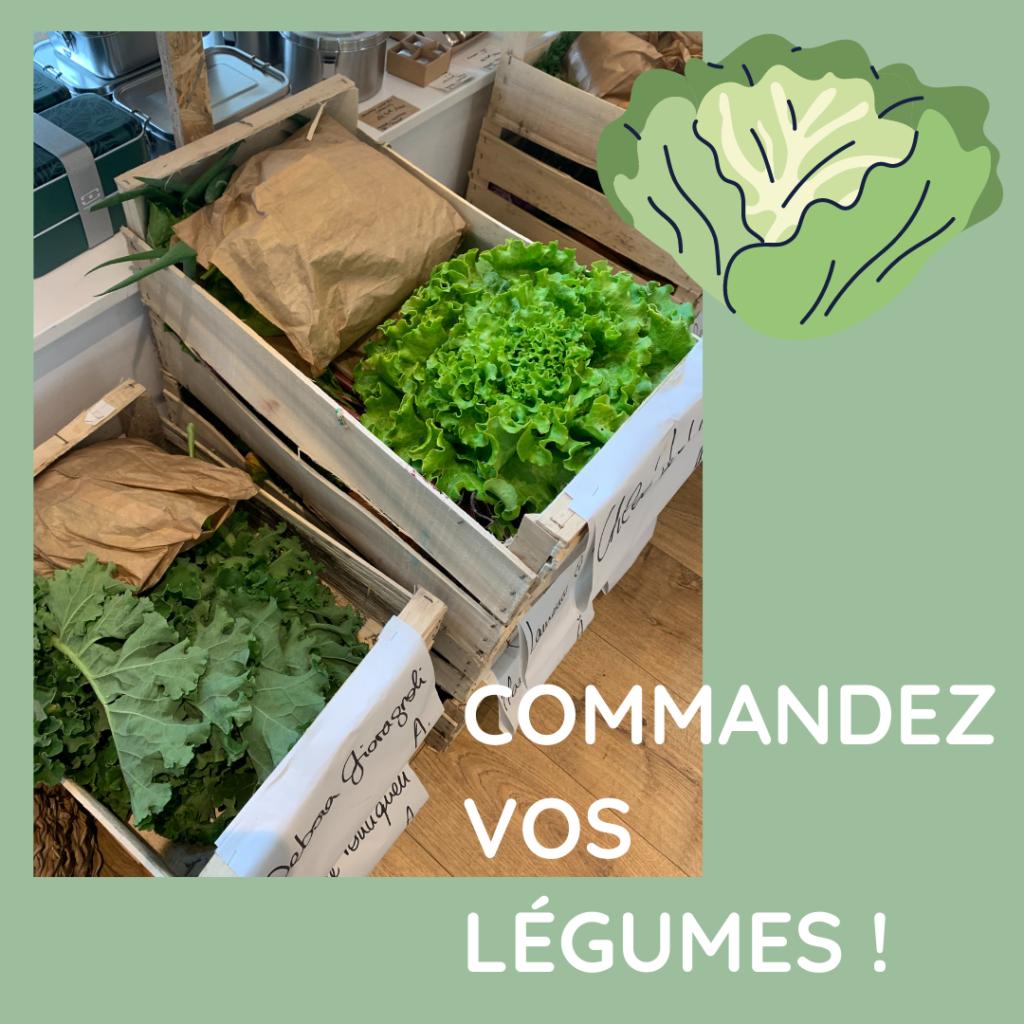 Commandez vos paniers de légumes bio