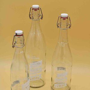 Bouteille en verre 50cl / 75cl / 1l – Jean Bouteille