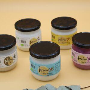 Yaourt végétal – 5 parfums au choix – Nomadyo
