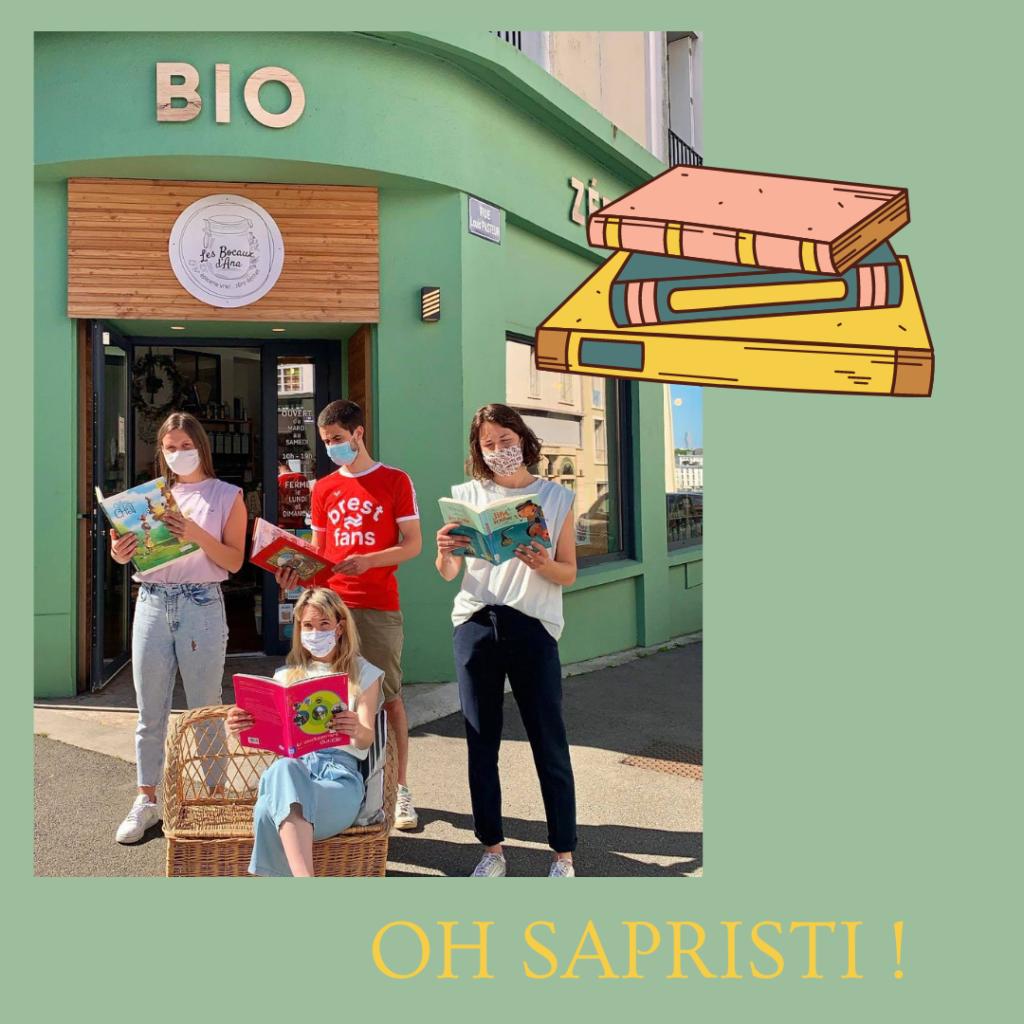 Les Bocaux d'Ana et le Projet Sapristi !
