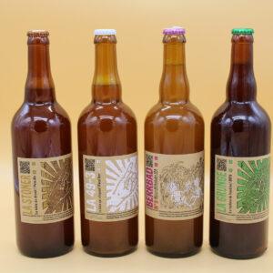 Bières Brasserie de L'Urbaine – 75cl