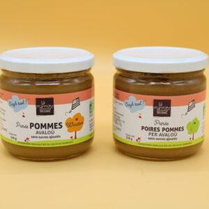 Purées de fruits – La Marmite Bretonne