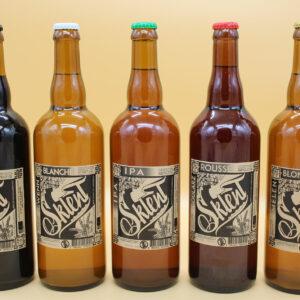 Bières Sklent 75cl